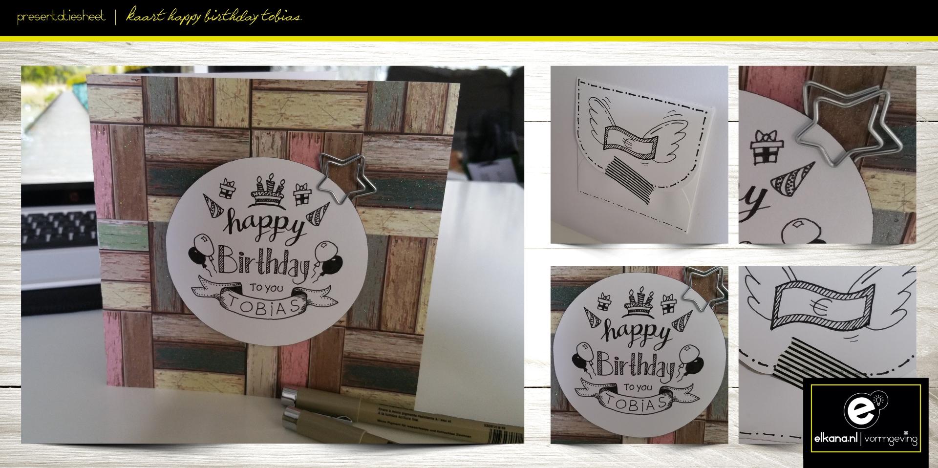 Verjaardagskaart Tobias