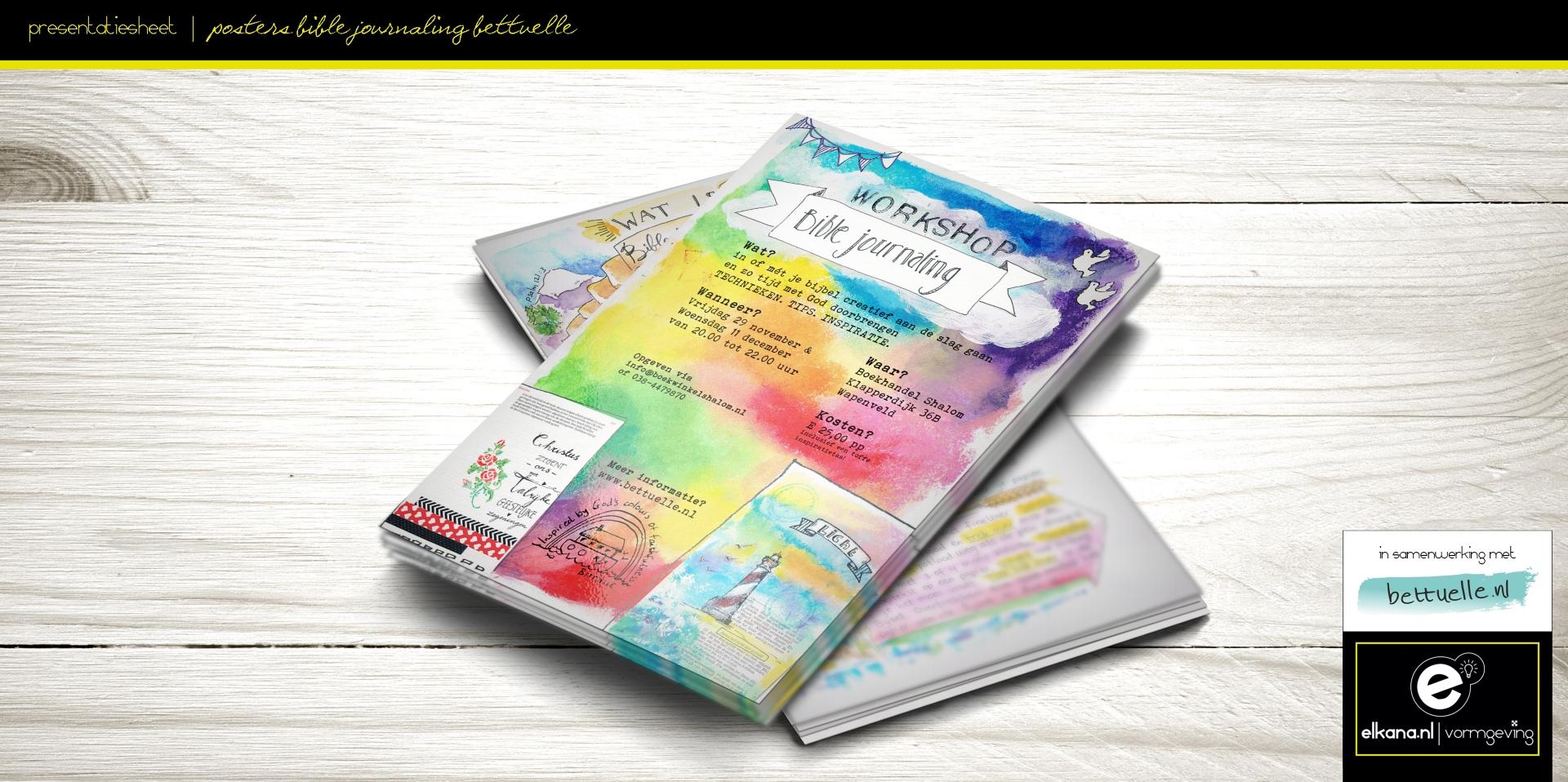 Poster Biblejournaling – Bettuelle