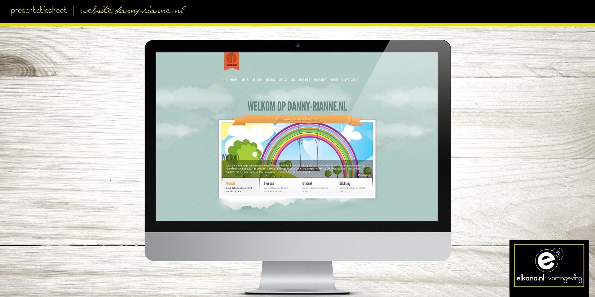 Website Danny & Rianne – V2
