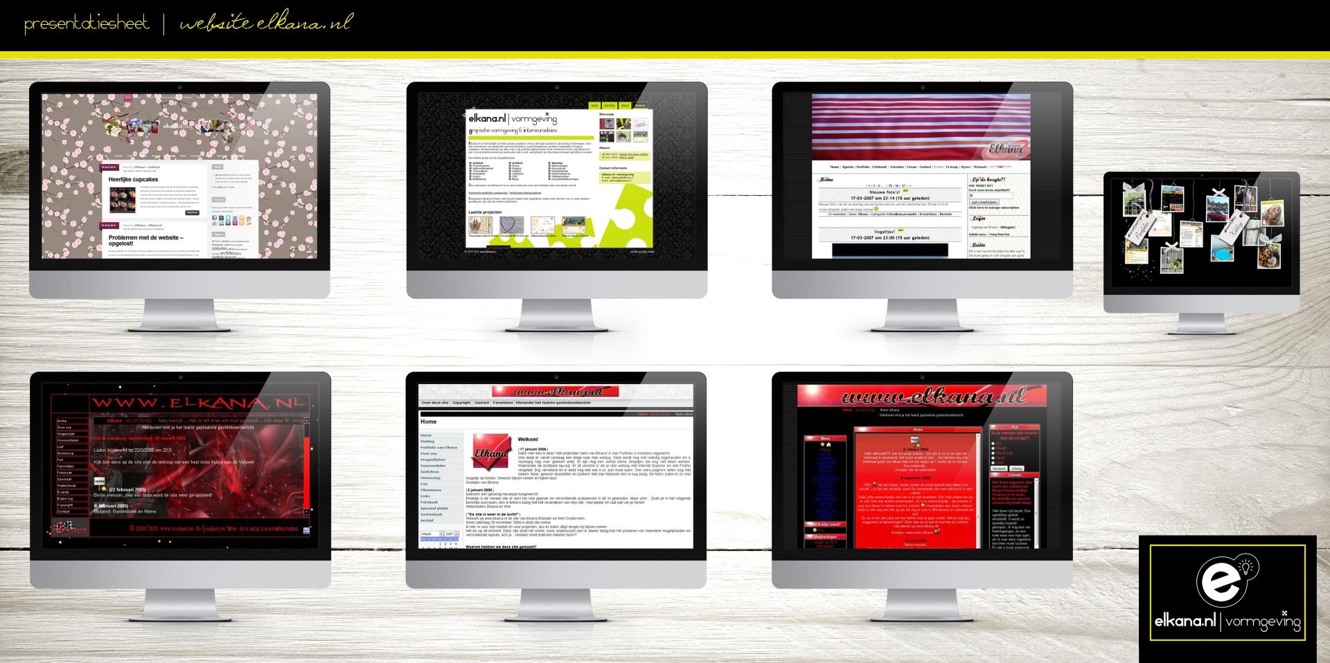 Website Elkana.nl