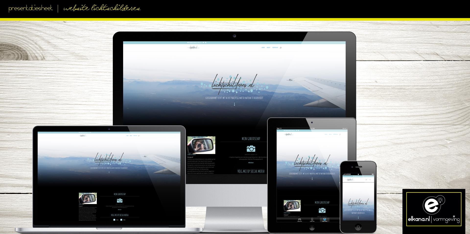 Website Lichtschilderes