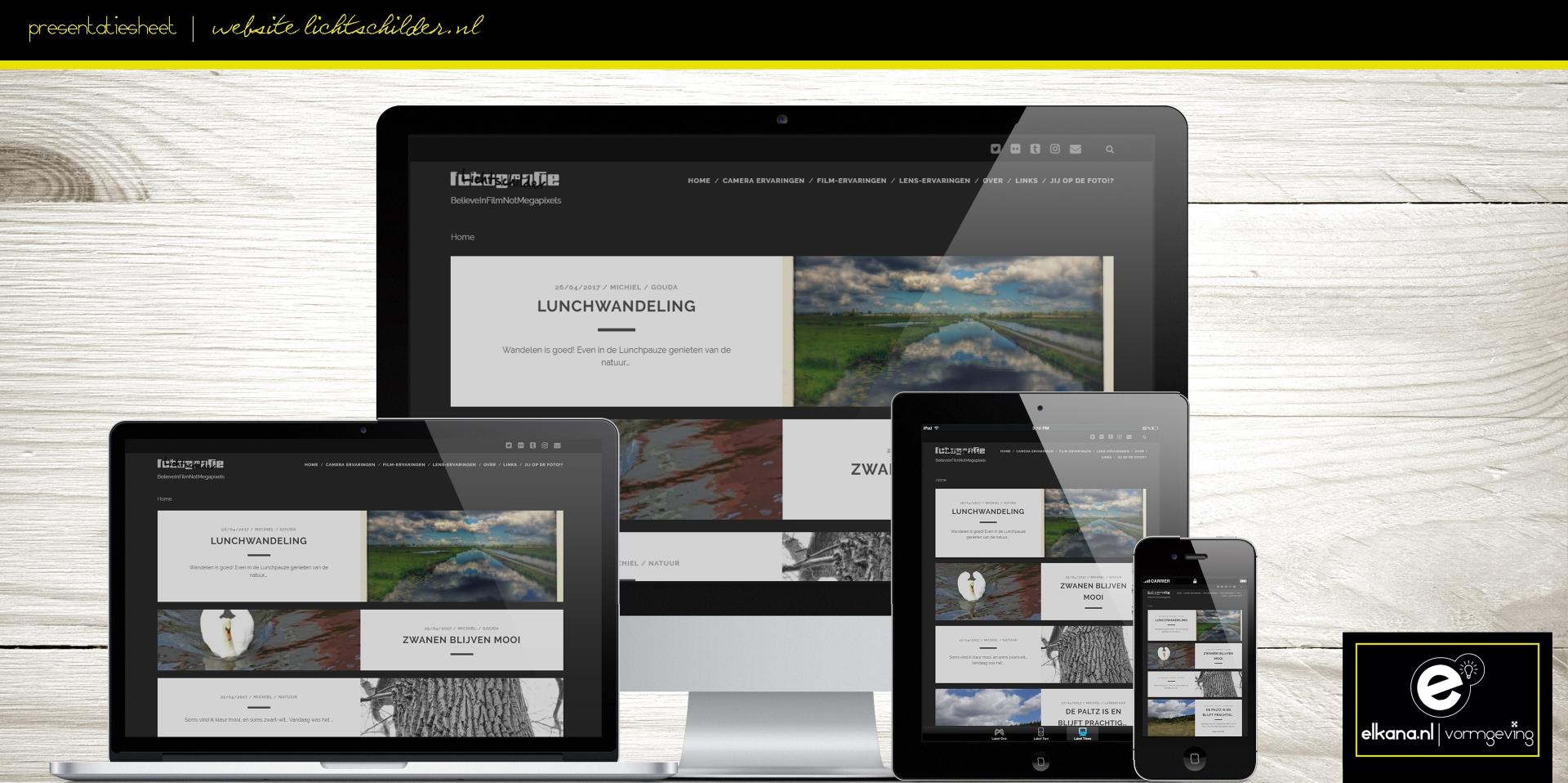 Website Lichtschilder Fotografie