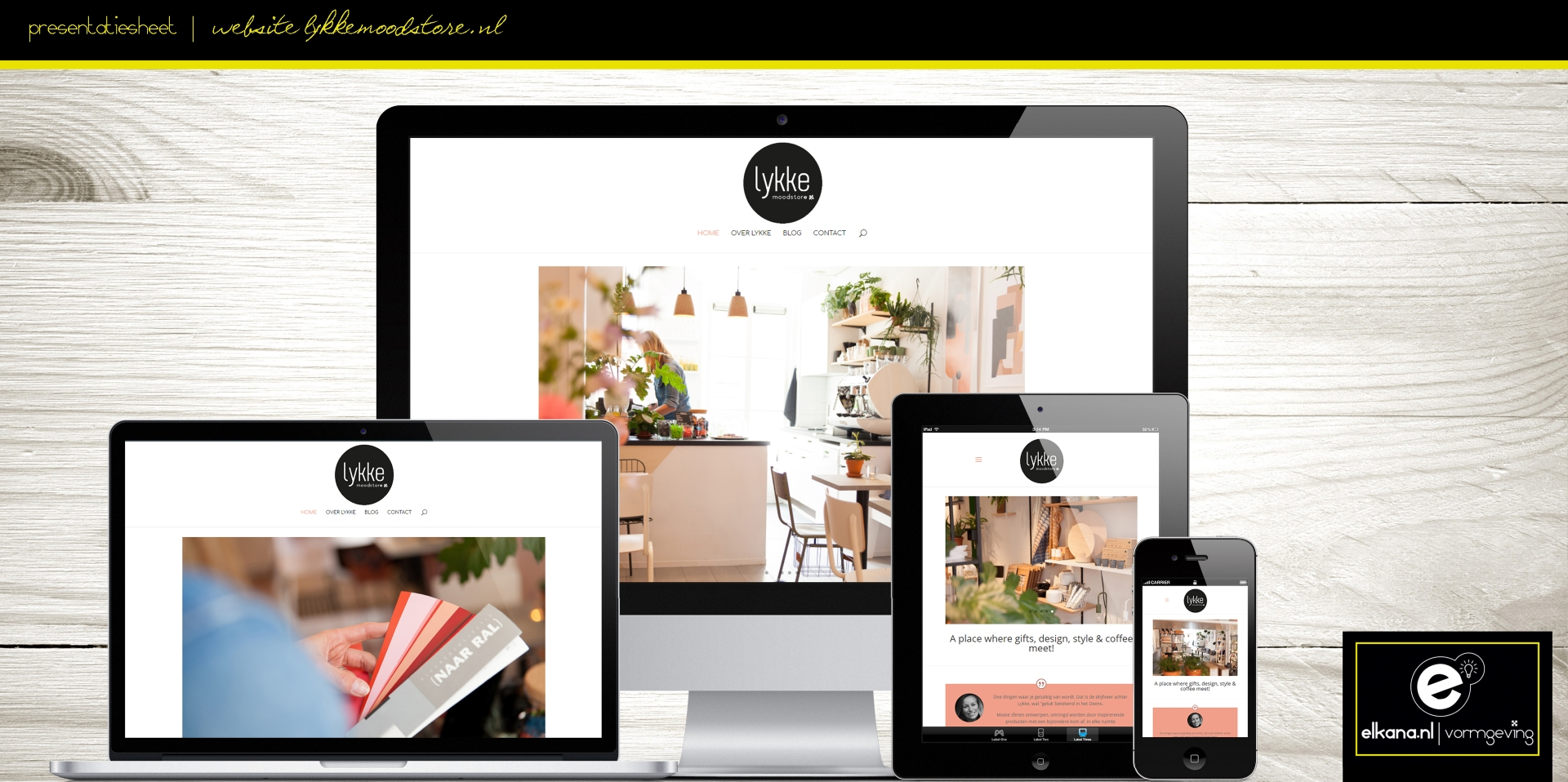 Website Lykke Moodstore