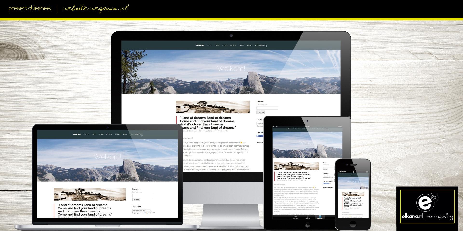Website WeGoUSA
